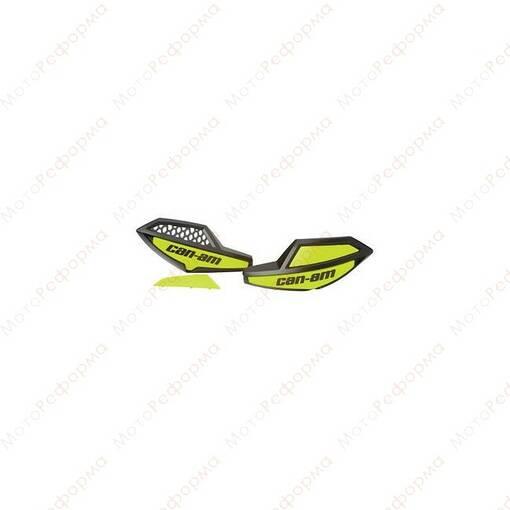 Ветровые щитки дефлекторы защиты рук Can-Am Oullander G2 (Зеленые) 703100564