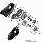 Крышка вариатора Can-Am Maverick Sport 1000R