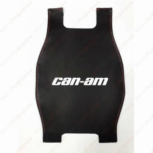 Накладка руля центральная (красная) Can-Am Outlander G2 1000 XMR 16-19 709401652