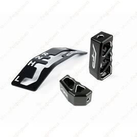 Комплект декоративных ручек и накладка КПП Agency Power для Can-Am Maverick X3 (черный)