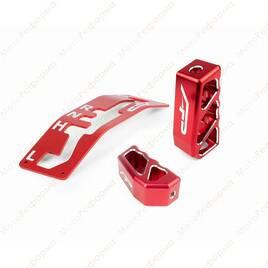 Комплект декоративных ручек и накладка КПП Agency Power для Can-Am Maverick X3 (красный)