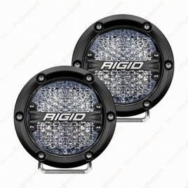 """Фары рабочего света RIGID 360 series 4"""", белая подсветка"""