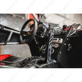 Ручной задний тормоз гидравлический Agency Power для Can-Am Maverick X3 (синий)