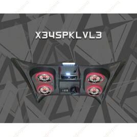 Крыша с встроенной музыкальной системой AudioFormz для Can-Am Maverick X3 Level 3