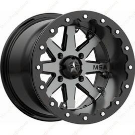 M21-04737 MSA M21 LOK Charcoal Tint  R14x7  4x137  Диск колесный с бедлоком для квадроциклов BRP Can-Am