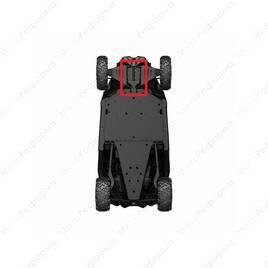 Защита переднего редуктора для Can-Am Maverick X3 RC 72