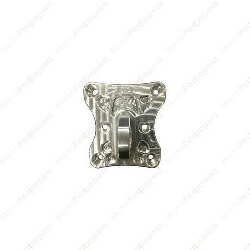 Пластина центральная задних тяг с кольцом ZRP для Can-Am Maverick X3 72  (Алюминий)