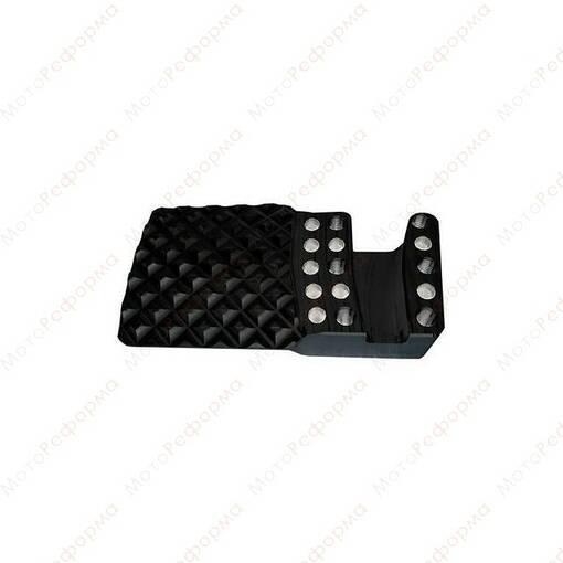 Расширитель педали тормоза ZRP для Can-Am Maverick X3 72  (черная)