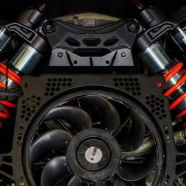 Усиленный кожух вентилятора FastLab UTV  для Can-Am Maverick X3