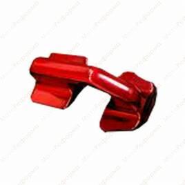 Скоба буксировочная для центральной площадки поперечных тяг LM-UTV  для Can-Am Maverick X3 Красная