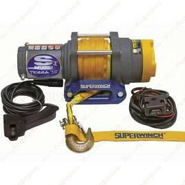 Лебедка Super Winch TERRA 35 лебедка электрическая 12В с синтетическим тросом 1135230