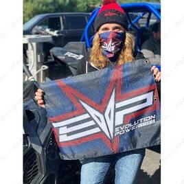 Флаг Evolution Powersports EVP Radiate Whip Flag 50x65cm