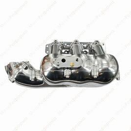 Коллектор Evolution Powersports для Can Am Maverick X3 Torrent Billet Intake Plenum  Raw Brushed Aluminum