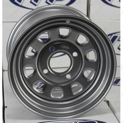 Стальной диск для квадроцикла ITP Delta Steel D12F411