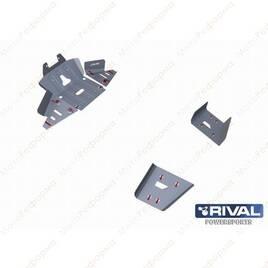 Комплект защит днища UTV BRP Defender (3 части) + комплект крепежа