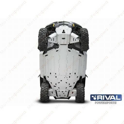 Комплект защит днища UTV BRP Defender (2016-) + крепеж