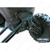 Усиленная площадка RIVAL для задних рычагов с буксировочной проушиной для Can-Am Maverick X3