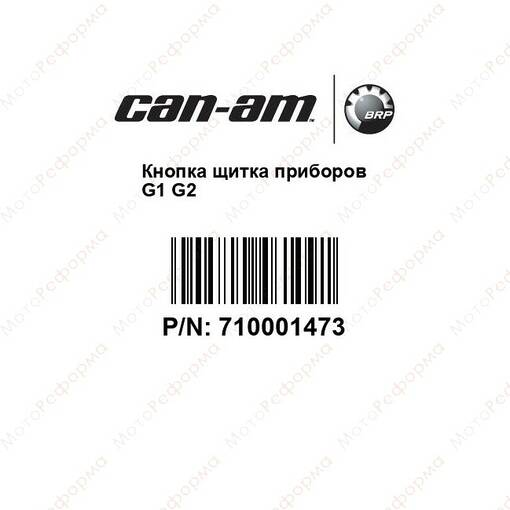 Кнопка приборной панели Can Am BRP G1 710001473 710001417