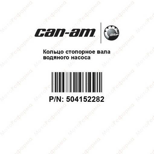 Стопорное кольцо Can Am BRP 504152282 420245330